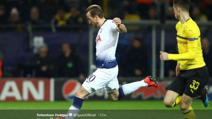 Gol Harry Kane ke Gawang Dortmund Antar Tottenham Hotspur ke Perempat Final Liga Champions