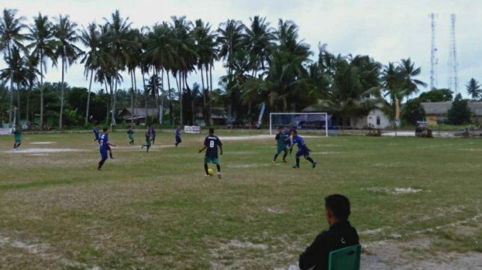 Brace Tukul Bawa Kemenangan Veteran Belilik 3-1 dari Tim PS. Bara Kuda