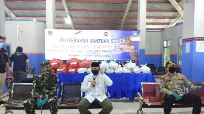 Kunjungi Posko Gugus Tugas Covid-19 Tanjungkalian, Danrem: SOP Sudah Cukup Ketat
