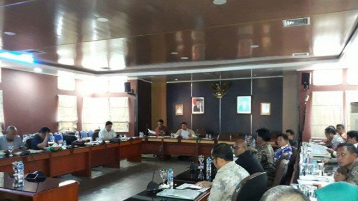 Pembahasan Raperda RZWP3K Belitung dan Beltim Clear, Pangkalpinang Diskors