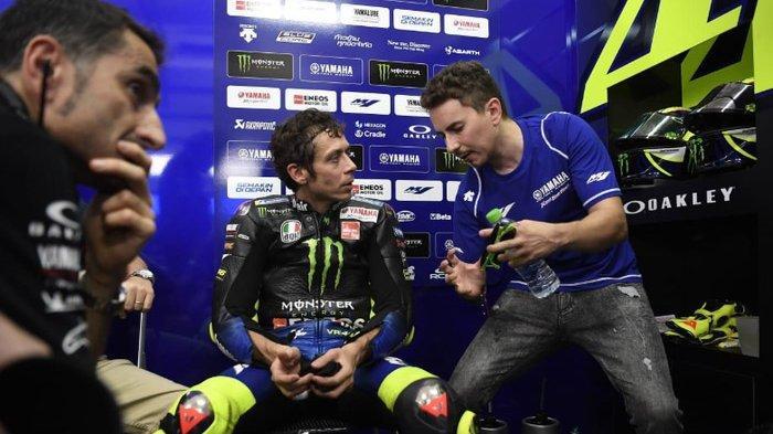 Test rider Yamaha, Jorge Lorenzo Sesumbar Punya Satu Keunggulan Lebih Dibanding Valentino Rossi
