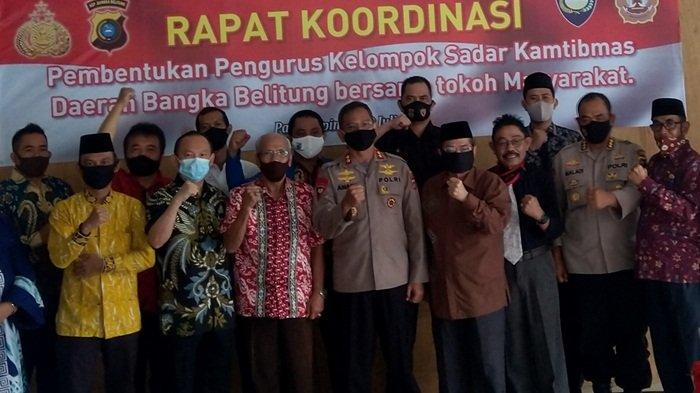 Profesor Hattamarasyid Pimpin Pokdar Kamtibmas Bhayangkara Bangka Belitung