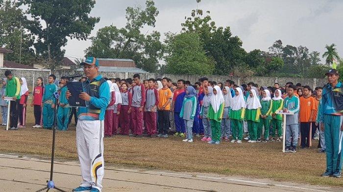 908 Atlet Pelajar se-Kabupaten Belitung Ramaikan Sembilan Cabor Popda IX Belitung 2018
