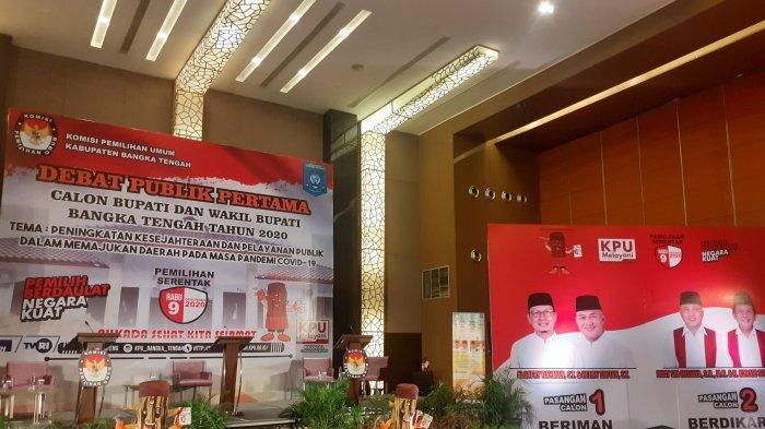 Ayo Saksikan, Debat Publik Pilkada Bangka Tengah, LIVE Streaming FB dan Youtube Bangka Pos
