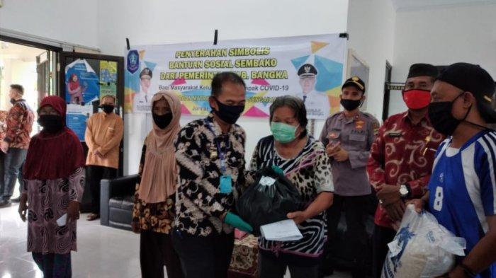 Bantuan Sosial Tahap 1 Pemkab Bangka 21.000 Paket Sembako Sudah Dibagikan