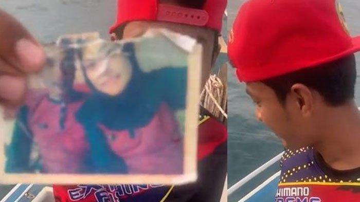 4 Tahun Dirundung Luka Hati, Pria Ini Berusaha Move On Buang Foto Mantan Kekasih ke Tengah Laut