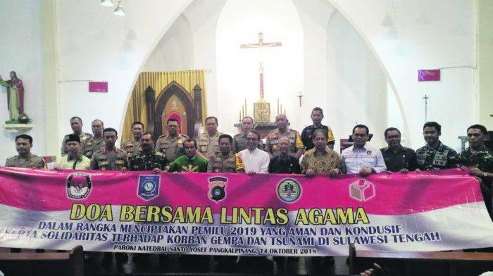 Pemuda dan Umat Katolik Dukung Pemilu Damai di Bangka Belitung