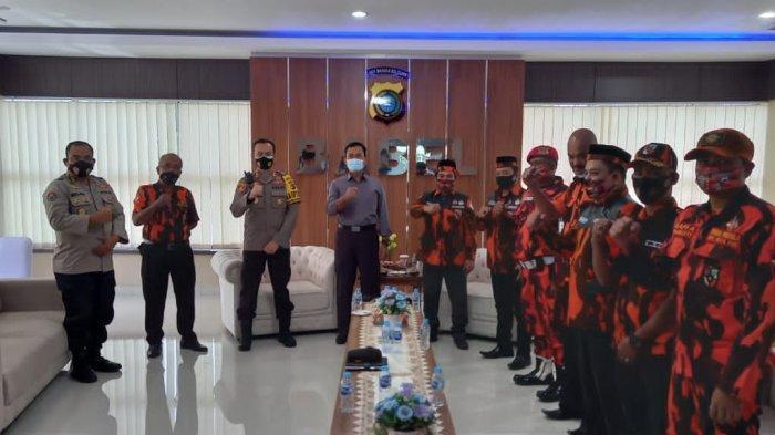 Pengurus Pemuda Pancasila Audiensi ke Polda Bangka Belitung