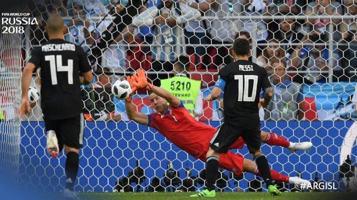 Gagal Cetak Gol dari Titik Putih, Akurasi Tendangan Penalti Lionel Messi Dipertanyakan