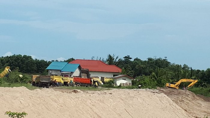 Masyarakat Jeruk Keluhkan Aktivitas Penambangan Pasir
