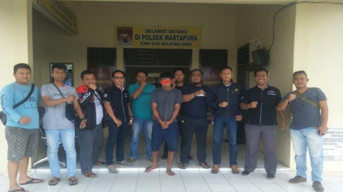 Pelarian Aldiyanto Berakhir di Tangan Tim Gabungan Polres Babar dan Polsek Urban Martapura OKU Timur