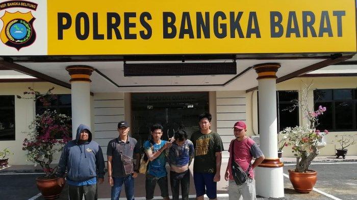 DPO Pencurian Ratusan Kilogram Timah Bersih dari Smelter Dicokok Polres Bangka Barat