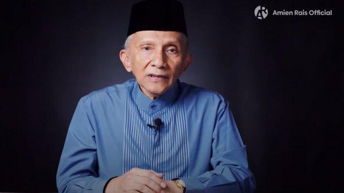 Pendiri PAN Amien Rais yang kini mendirikan partai baru bernama Partai Umat
