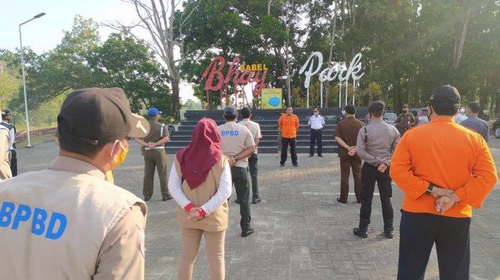 Tim Terpadu Covid-19 Bangka Belitung Beri Sanksi Pelanggar Prokes