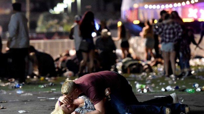 FOTO dan VIDEO -- Mayat-mayat Bergelimpangan Saat Penembakan Saat Konser di Las Vegas