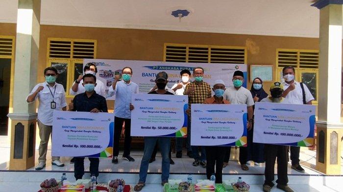 Didorong BPJ, Angkasa Pura II Kucurkan Dana CSR Rp 50 Juta di Desa Simpang Yul