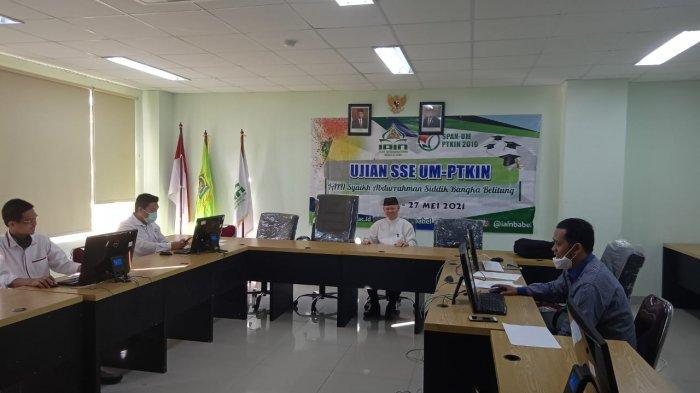Serentak se-Indonesia, IAIN SAS Babel Gelar SSE UM-PTKIN Tahun 2021