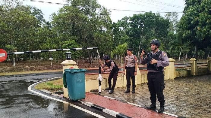 Pasca Insiden Bom Bunuh Diri di Polrestabes Medan, Penjagaan Ketat Terlihat di Polres Bateng