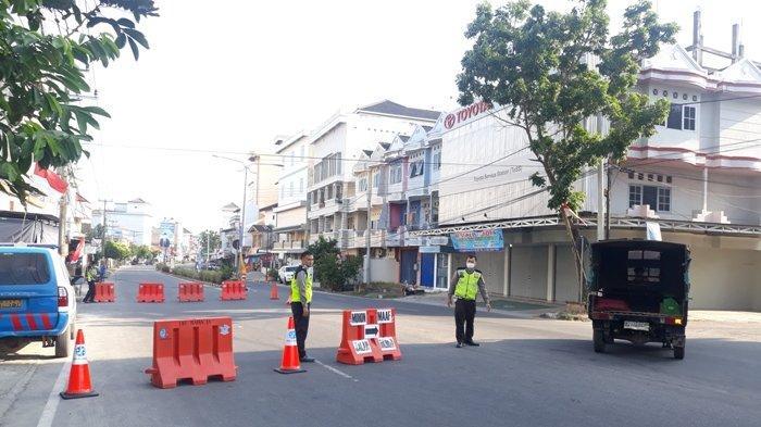 Mendekati Puncak Sembahyang Rebut di Kelenteng Setia Bakti, Polisi Lakukan Penutupan Jalan