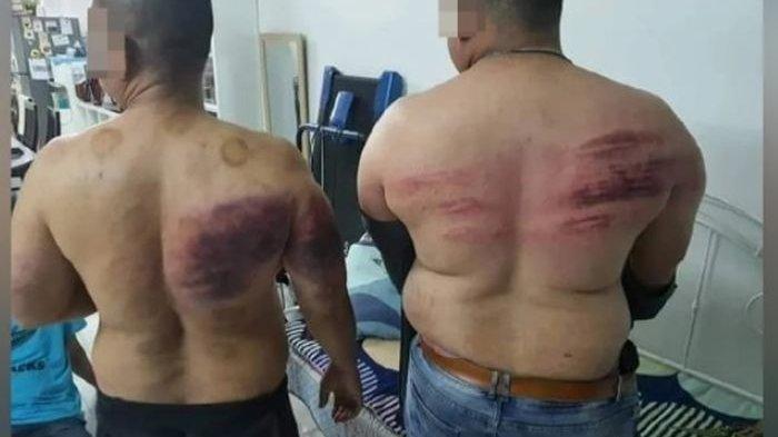 Pengawal dipukul majikan karena puasa.