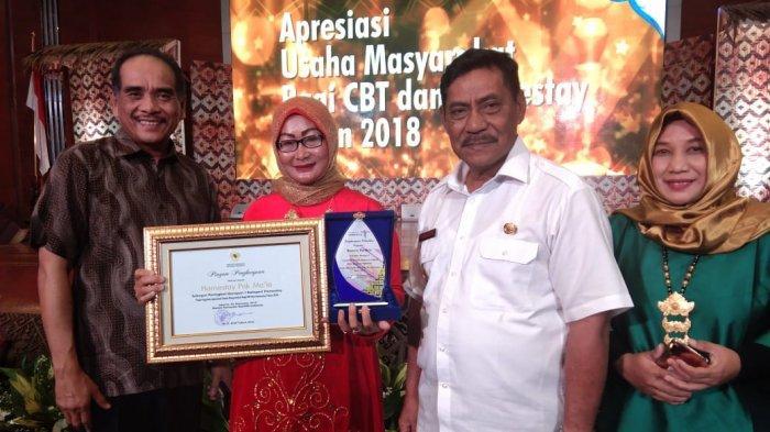 Belitung Terima Penghargaan Pengelola Homestay Terbaik