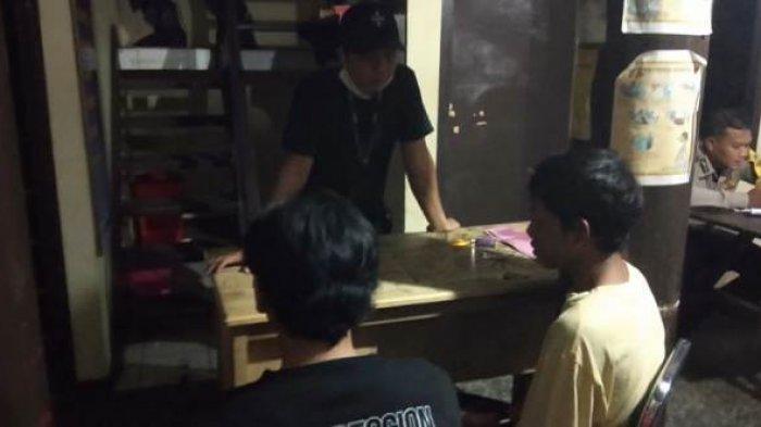 Dua Pelaku Pengeroyokan Diringkus Tim Buser Saat Nongkrong di Kafe Pangkalpinang
