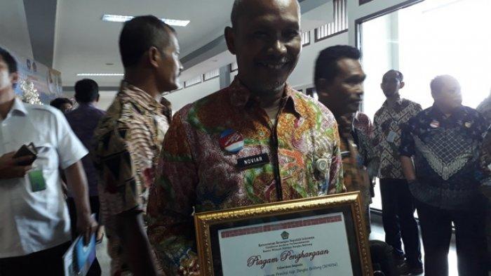 PUPR Babel Raih OPD Pengelola DIPA Terbaik, Noviar Ishak Dedikasikan untuk Staf Korban Lion Air