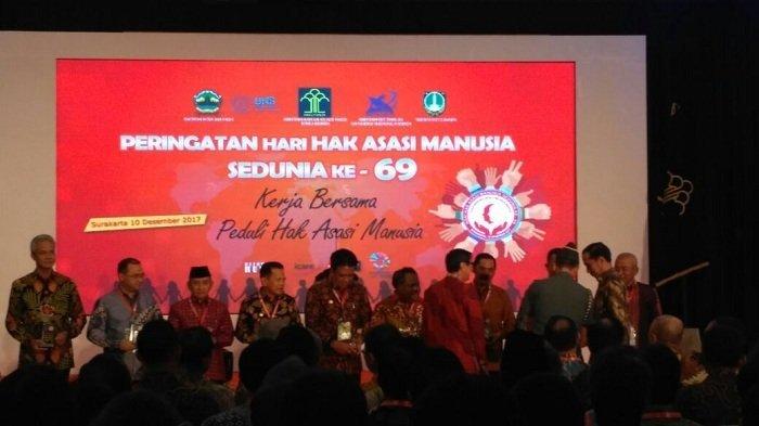 Babel, Jawa Tengah dan Bali Terima Penghargaan Peduli HAM dari Jokowi