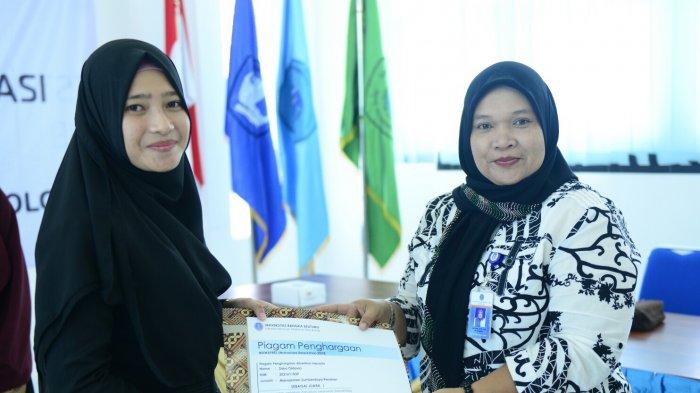 Siska Oktavia  Mahasiswa Berprestasi Fakultas Pertanian, Perikanan dan Biologi Tahun 2018