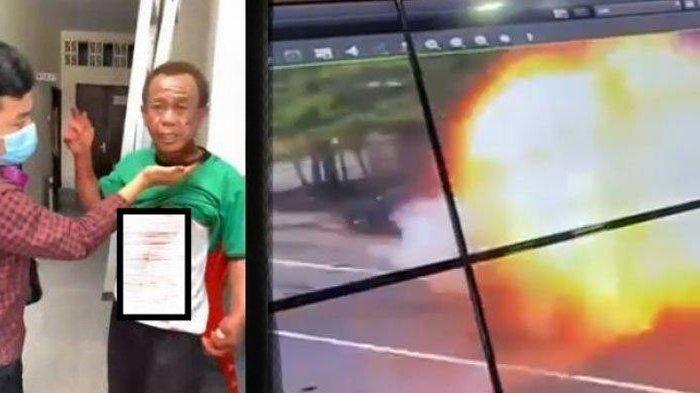 Kosmas, penjaga Gereja Katedral Makassar alami pendarahan setelah sempat hadang pelaku bom bunuh diri