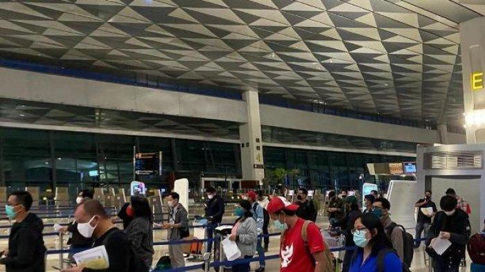 Jakarta Terapkan PSBB, Bandara Soekarno-Hatta dan Halim Perdanakusuma Perketat Protokol Kesehatan