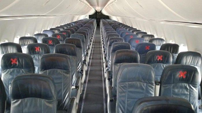 3 Mei 2020 Lion Air Terbang Lagi, Begini Pengaturan Tempat Duduk Penumpang di Kabin Pesawat