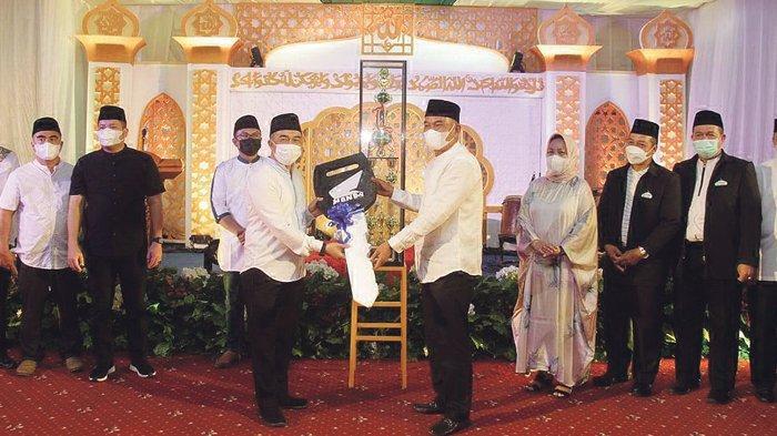 Penutupan Musabaqoh Tilawatil Qur'an dan Hadits Kota Pangkalpinang, Juara Umum Terima Motor
