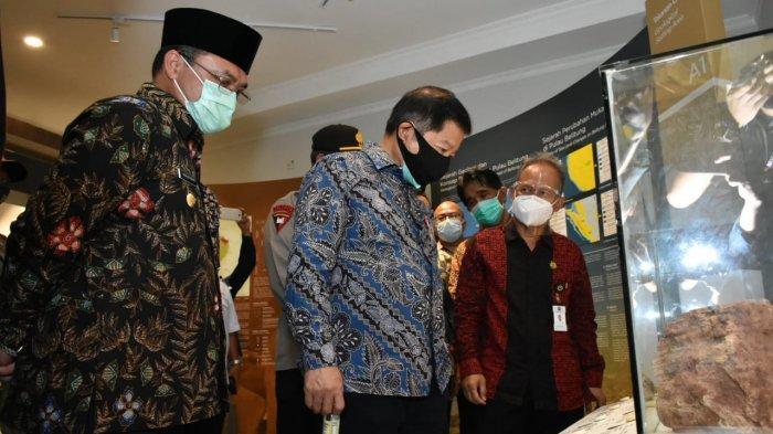 Menuju Geopark Internasional, Menteri Suharso Dorong Persiapan Pulau Belitung