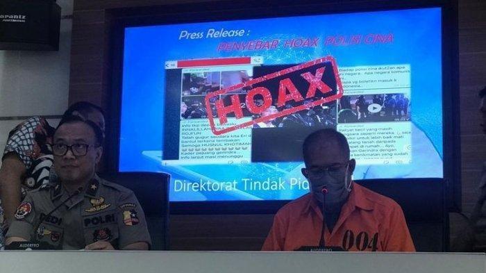 Ngaku Khilaf, Penyebar Hoax Anggota Brimob Diimpor dari China Minta Maaf
