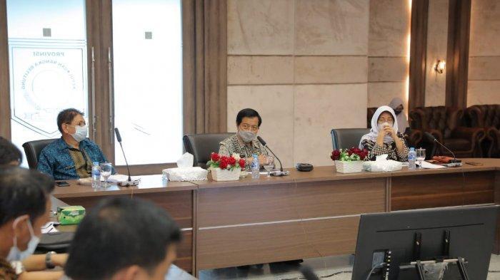 Laksanakan Penyederhanaan Birokrasi, Begini Skema Struktur Organisasi Pemprov Bangka Belitung