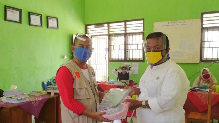 Satgas Pemulihan Covid-19 Bersama Simpul Babel Monitoring ke Kepulauan Pongok