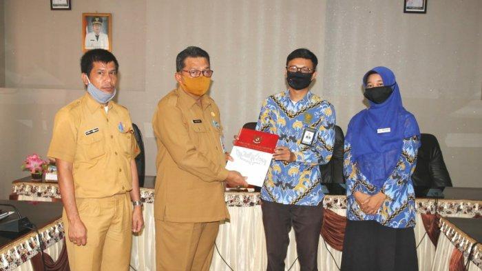 Pemkab Bangka Barat Terima LAHP Ombudsman