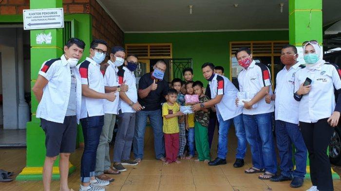 Peduli Covid-19, CRV Club Indonesia Chapter Bangka Bagikan 2000 Masker Kepada Masyarakat.