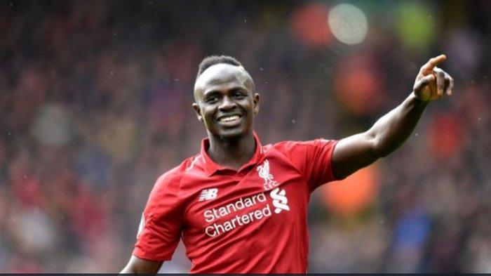 Penyerang milik Liverpool, Sadio Mane.