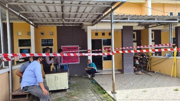 Rumah Kacab BPRS Babel Cabang Muntok di Graha Puri Pangkalpinang Disita Kejari Bangka Barat