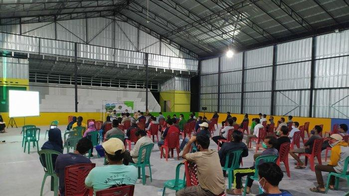 Kegiatan penyuluhan Redistribusi Tanah tahun anggaran 2021 oleh Kantor Pertanahan Kabupaten Belitung menggandeng Tim Tim Jaksa Pengacara Negara Kejaksaan Negeri Belitung