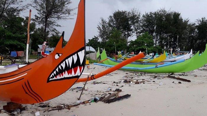 Dua Faktor Ini Bikin Nelayan Kater Manggar Pilih Parkir Perahu