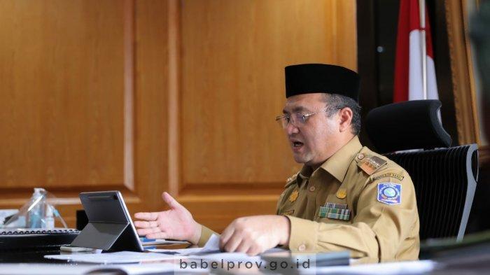 Gubernur Bangka Belitung Erzaldi Tekankan Peran Ekonomi Syariah di Era Pandemi Covid-19