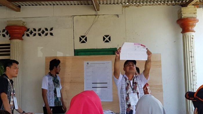 Partisipasi Pemilih di TPS 4 Kelurahan Tempat Udin Mencoblos Sebesar 69,3 Persen