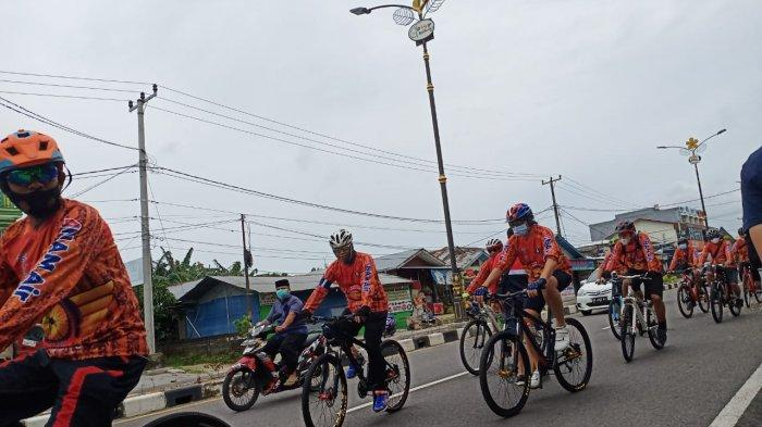 Peringati HUT ke-7, NAM Air Gelar Fun Bike di Belitung