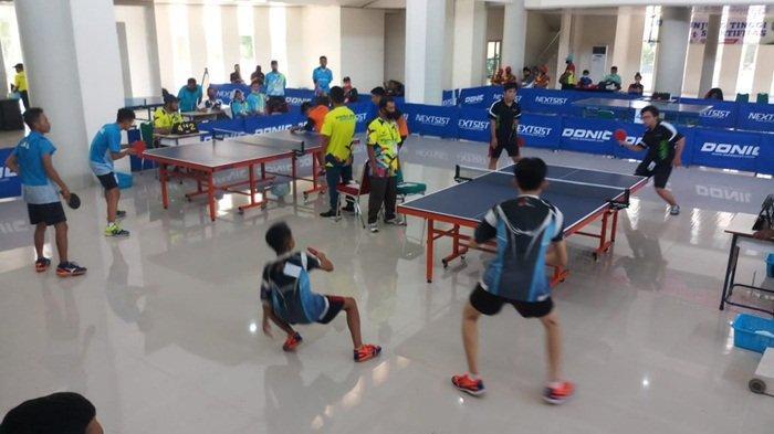 Kevin dan Zelo Sumbangkan Medali Emas Bangka Barat dalam Tenis Meja Ganda Putra POPDA 2020