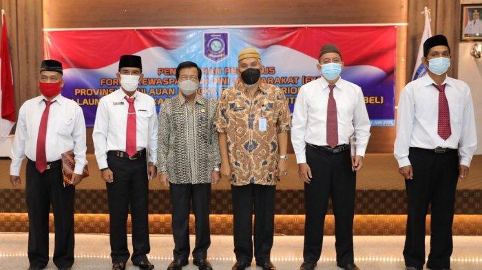 Wagub Bangka Belitung Kukuhkan Kepengurusan Forum Kewaspadaan Dini Masyarakat
