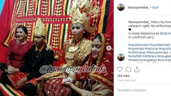 Pernikahan anak bungsu Lydia Kandou dan Jamal Mirdad