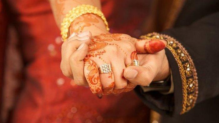 Ilustrasi Pernikahan India.